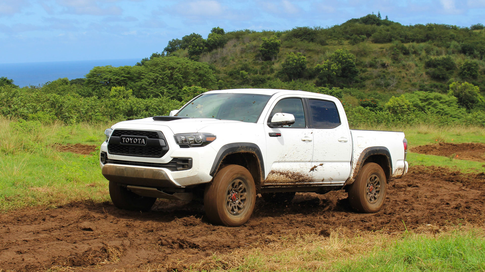 Hybrid Pickup Trucks >> 2017 Toyota Tacoma TRD Pro First Drive: No pavement, no problem