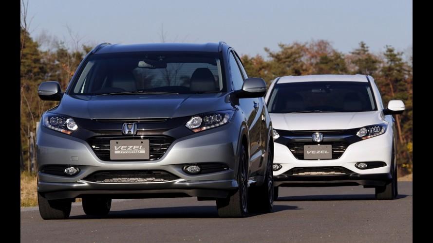 Futuro brasileiro, Honda Vezel é destaque em vendas no Japão em janeiro