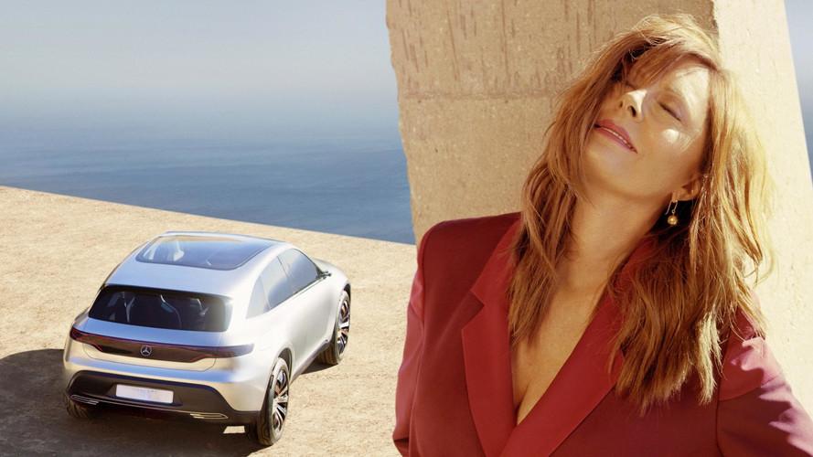 Mercedes And Susan Sarandon Team Up For Concept EQ Photo Shoot