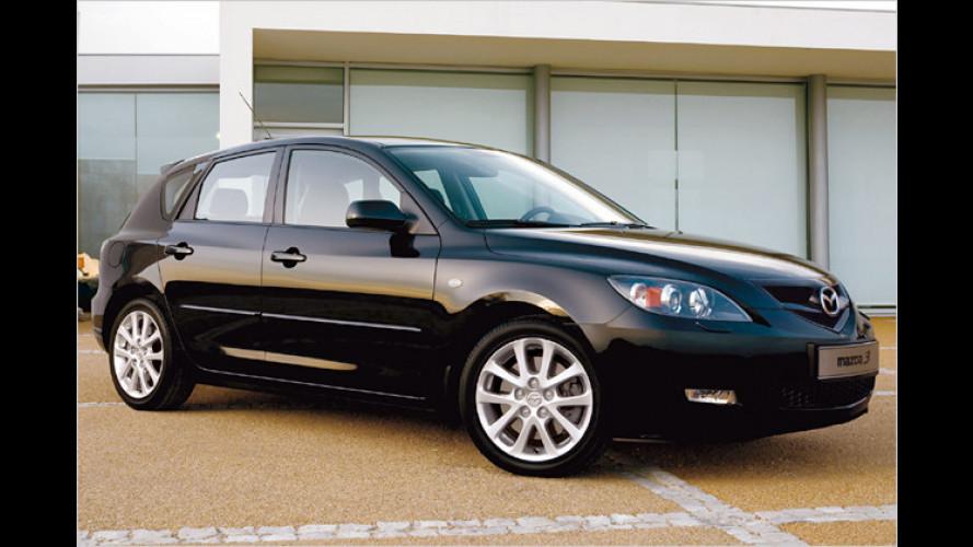 Mazda stattet den 3er mit mehr Ausstattungs-Merkmalen aus
