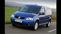VW Caddy: Vier alle