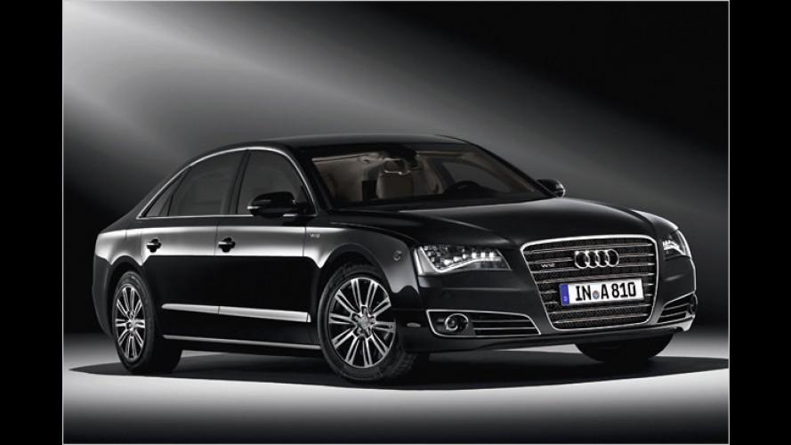 Auf Nummer sicher: Audi A8 L Security
