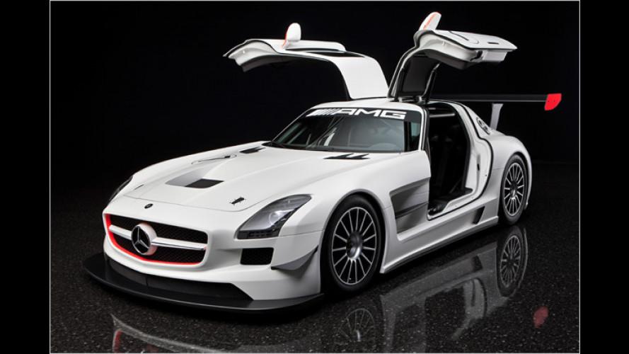 Für den Kundensport: Mercedes SLS AMG GT3