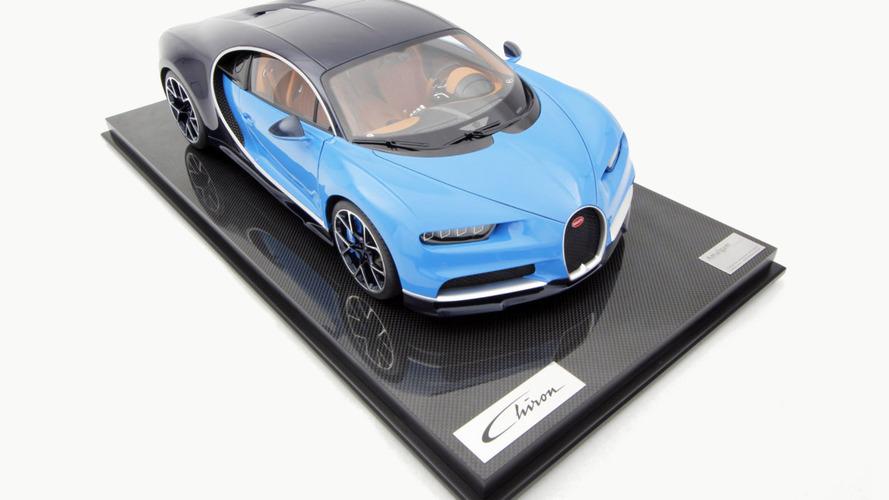 Bugatti Chiron - Une miniature à l'échelle 1:8 vendue à 9530 euros