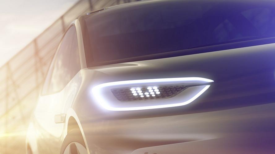 La Volkswagen électrique se présente avant le Mondial