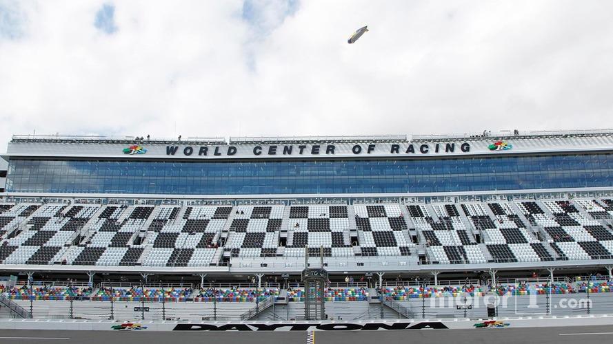 Daytona International Speedway suffers damage from Hurricane Matthew