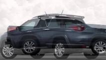 Yeni Fiat 'Toro' 4 Kapılı Pick Up, Cherokee'ye Benziyor