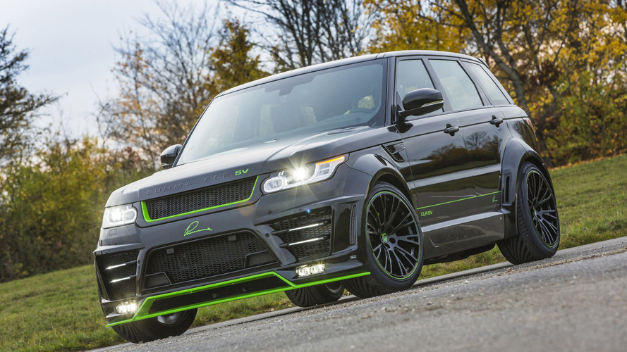 LUMMA tunes the Range Rover Sport SVR to 680 PS