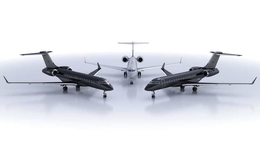 Brabus tunes... Bombardier private jets