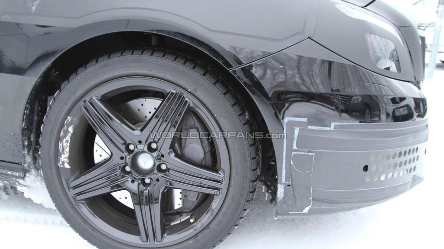 Mercedes B-Class AMG spied cold weather testing