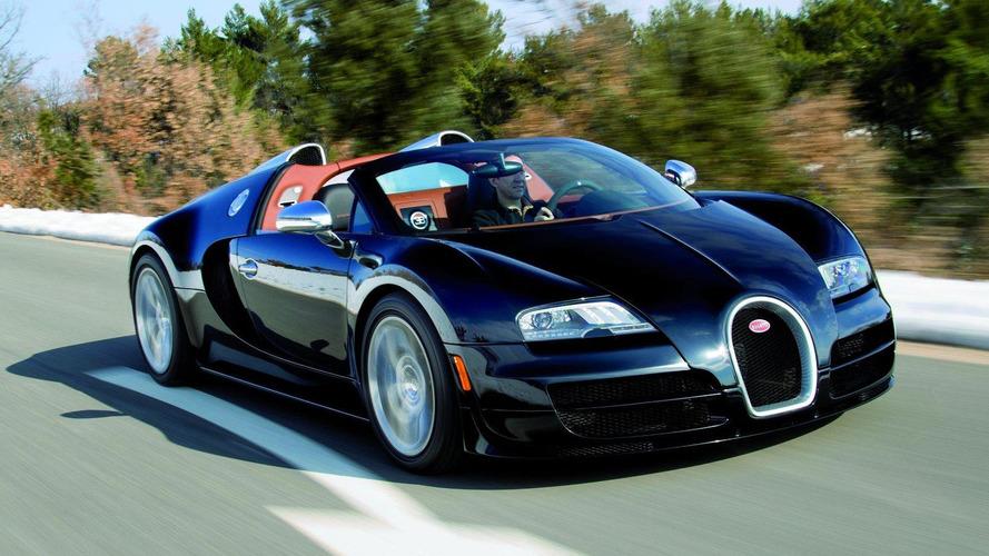 Bugatti Veyron Grand Sport Vitesse Legend Elisabeth Junek Edition to bow in Geneva