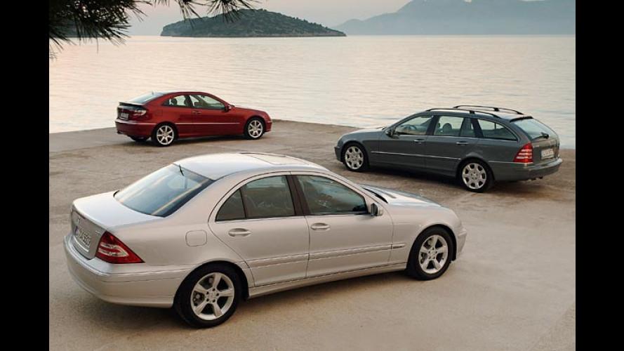 Mercedes C-Klasse: Neue Version startet im Frühjahr 2004