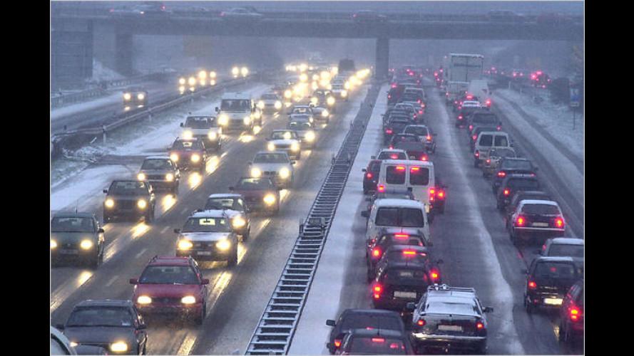 Auch Lieferwagen sind mit Winterreifen klar im Vorteil