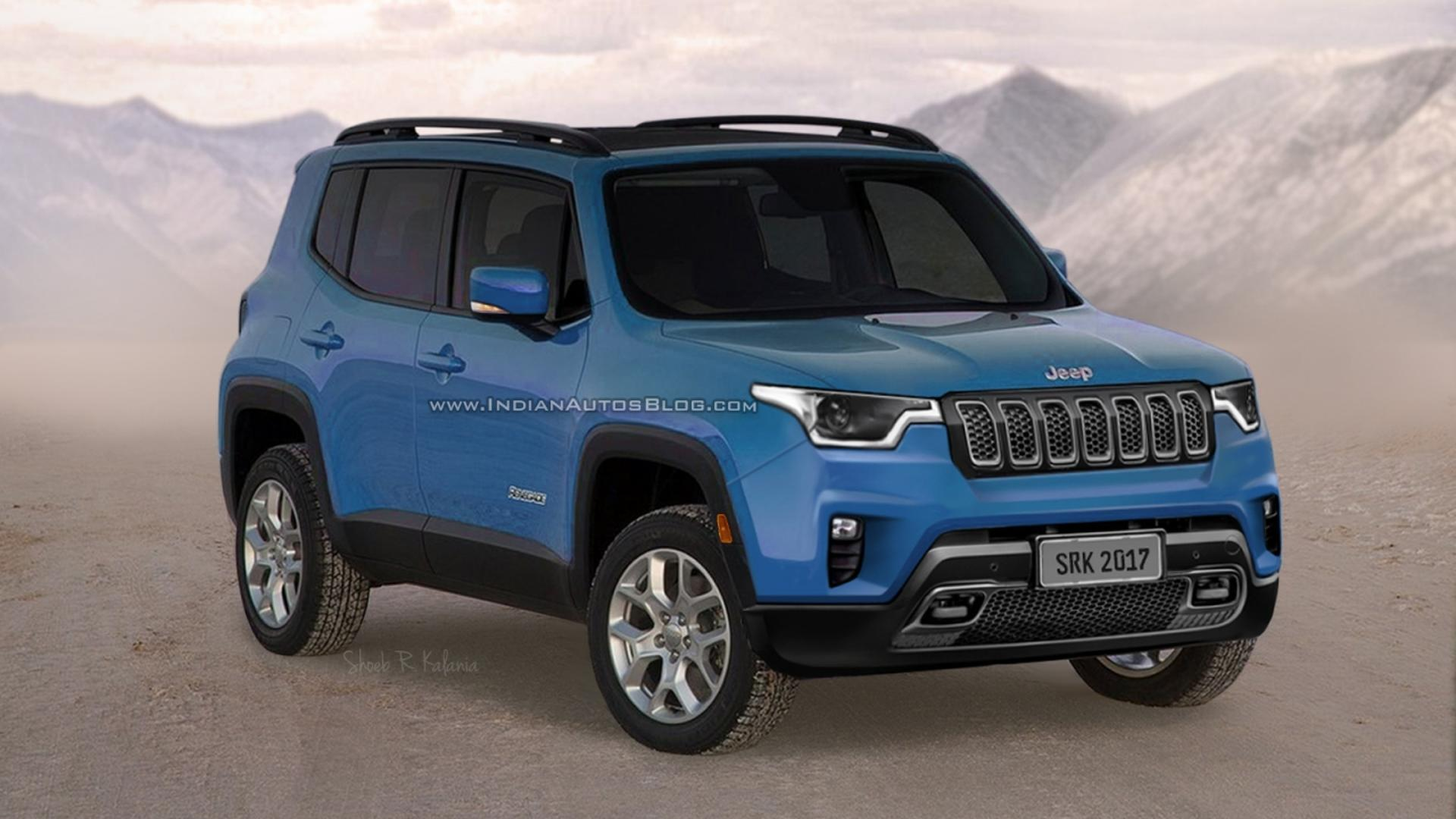 Jeep Renegade Models >> Will The Next Jeep Renegade Look Like This?