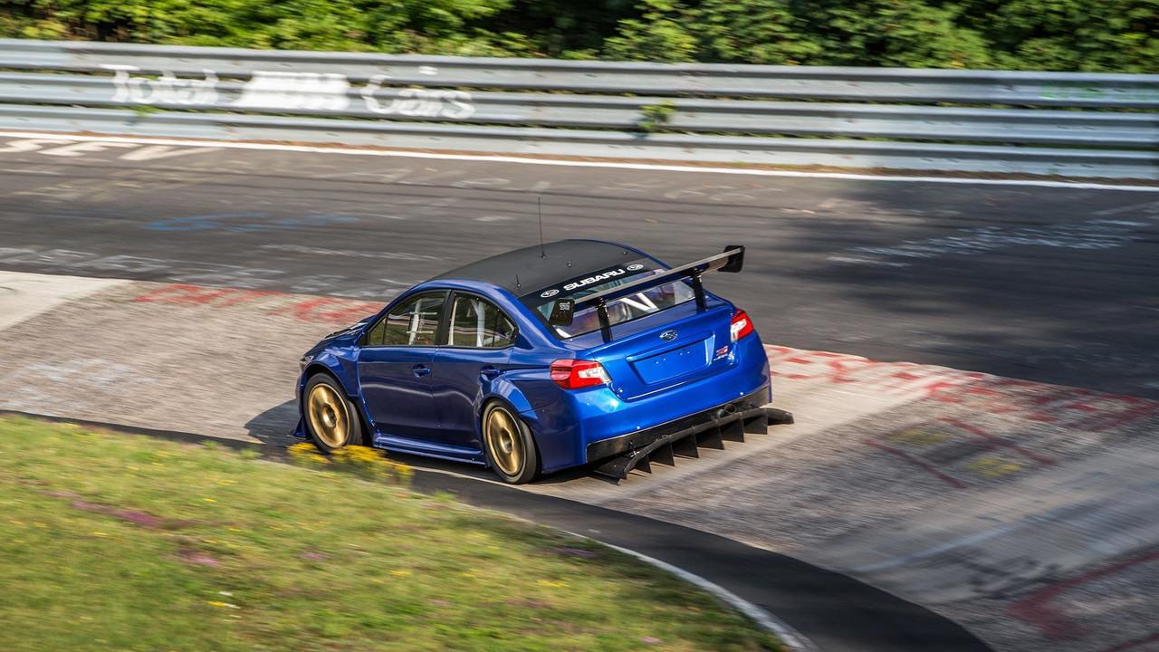 Watch The Subaru Sti Nbr Special Set Sedan Lap Record At
