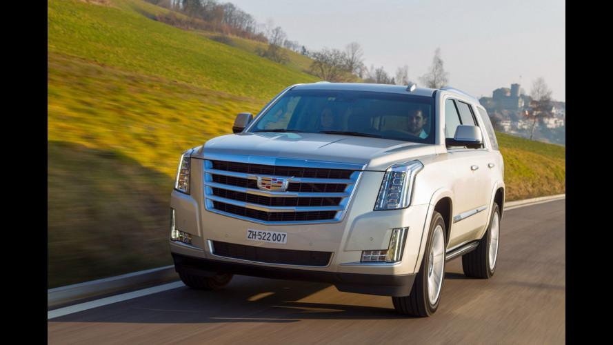 Cadillac Escalade, il SUV gigante arriva in Italia
