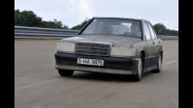A Nardo' con la Mercedes 190