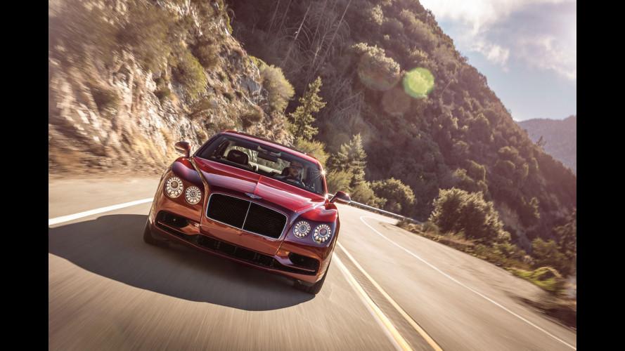 Bentley Flying Spur V8 S, potenza e sportività in stile british