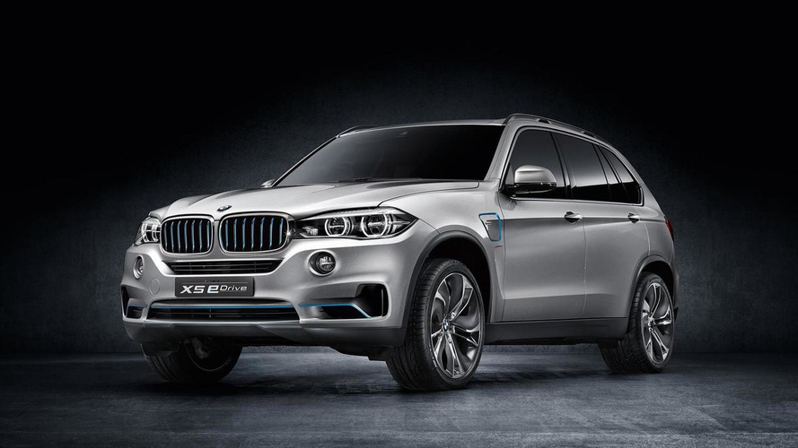 BMW Concept X5 eDrive announced for IAA