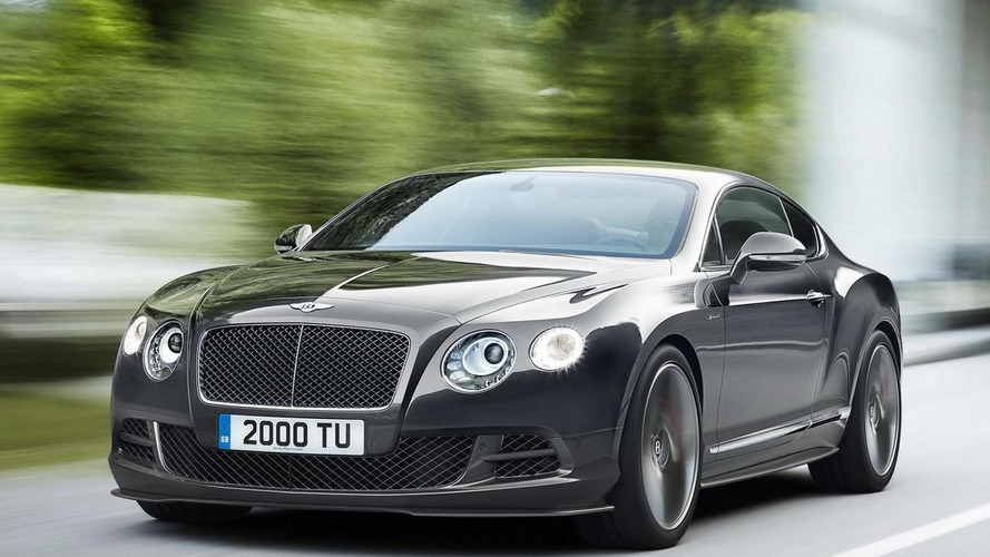 Bentley considering a four-door coupe & entry-level coupe