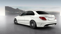 Mercedes-Benz C-Class with Night Package