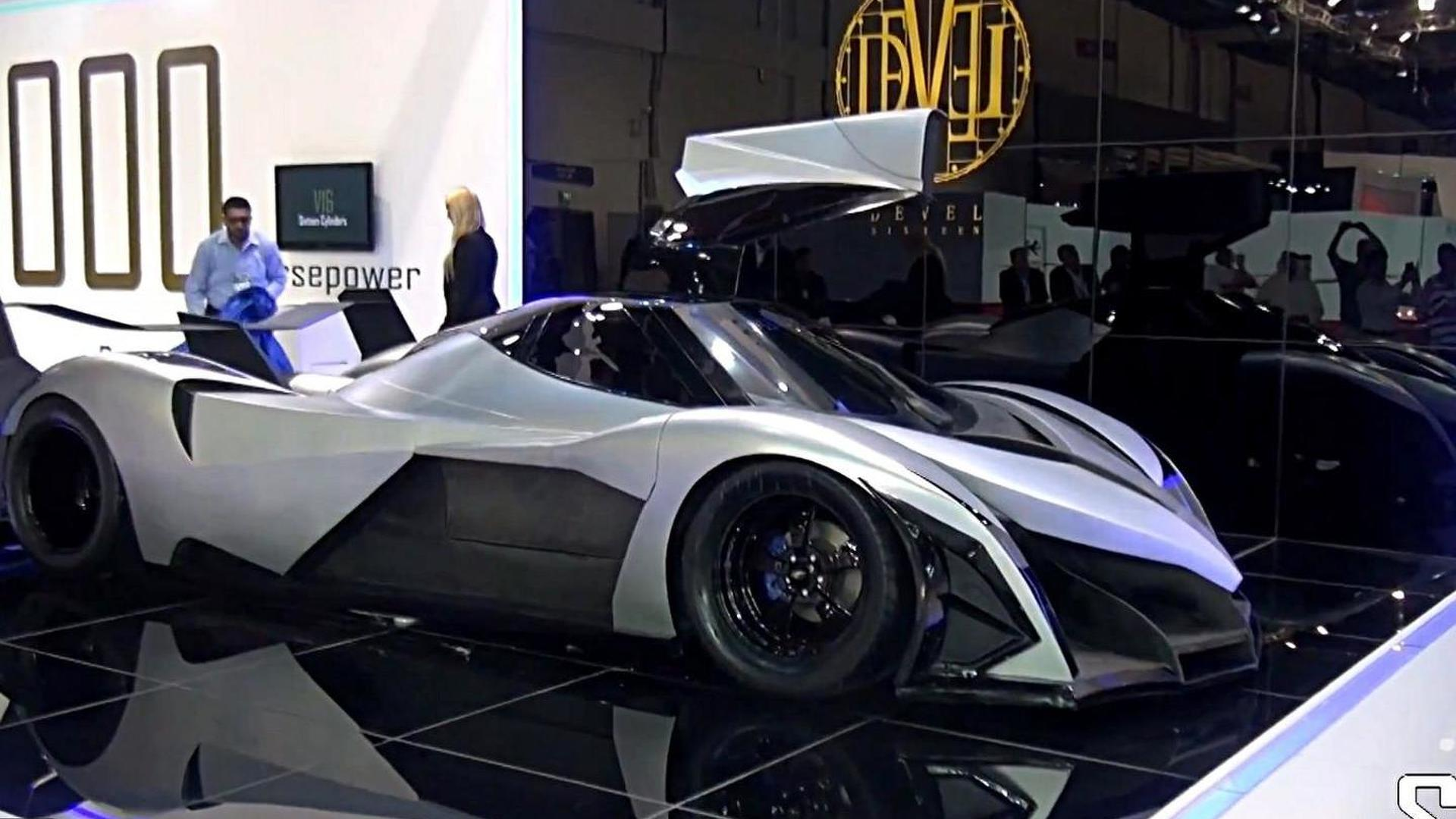 Devel Sixteen has an American engine, new details emerge