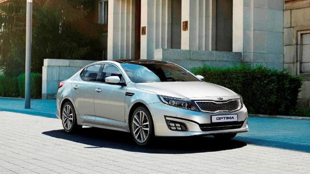 2014 Euro-spec Kia Optima facelift 16.08.2013