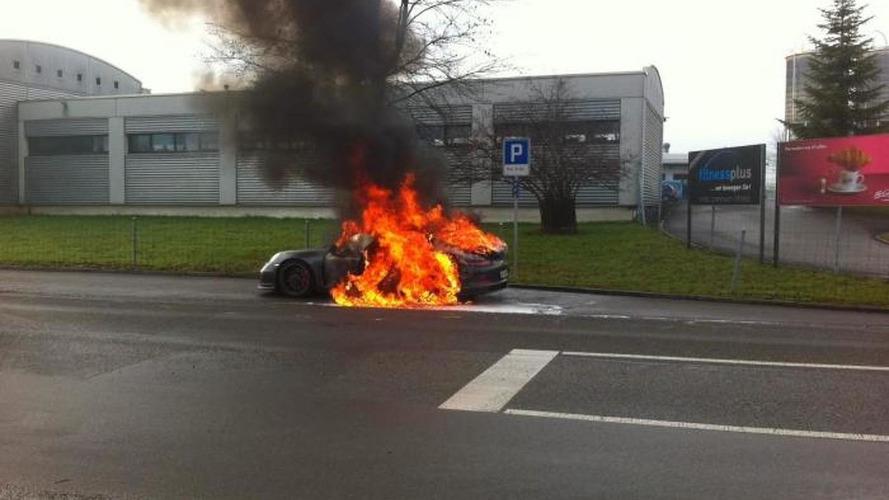 Porsche detects 911 GT3 fire risk problems, recalls all cars