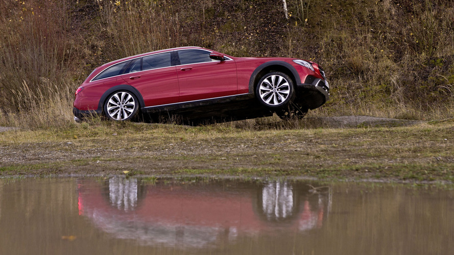 Mercedes E-Class All-Terrain detailed in new images and videos