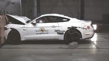 Ford Mustang Euro NCAP crash-test
