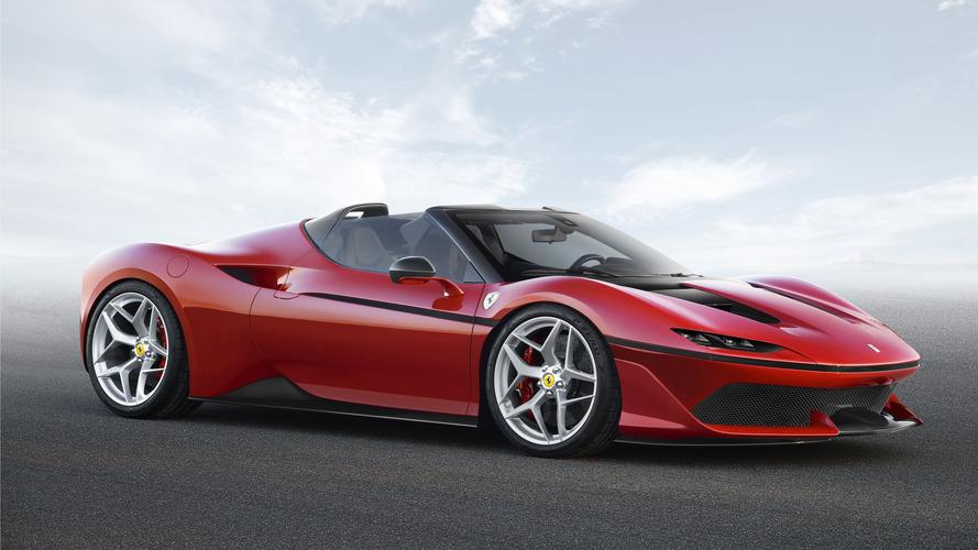 Ferrari J50, en honor al país del sol naciente