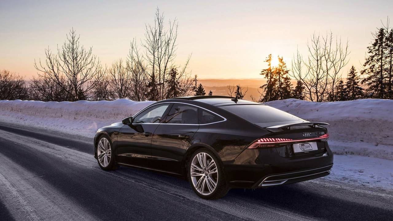 2018 Audi A7 >> 2019 Audi A7 Brings Sexy Back In Beauty Shots