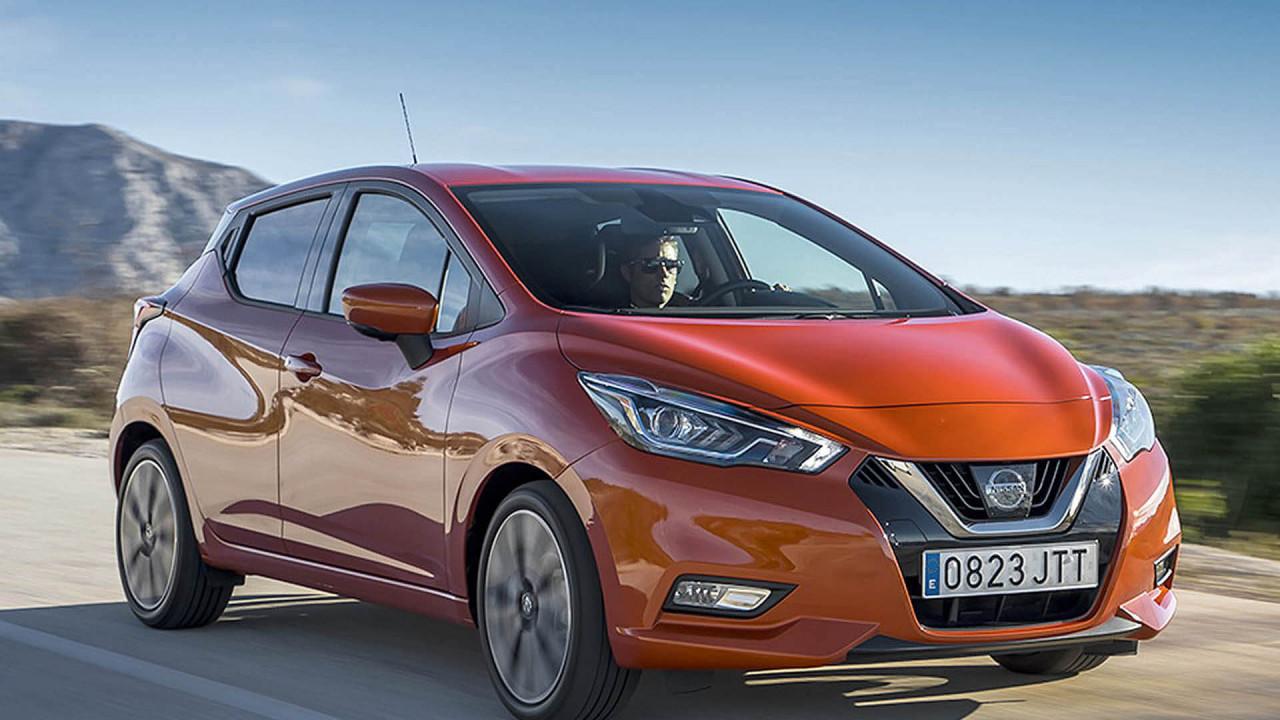 Nissan Micra, Renault Clio und Renault Zoe