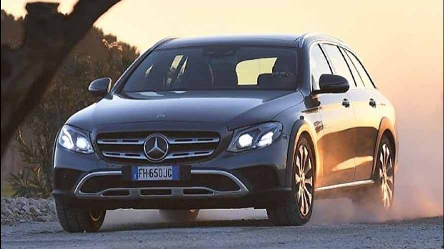 Mercedes Classe E 4MATIC All-Terrain, quando la station va ovunque