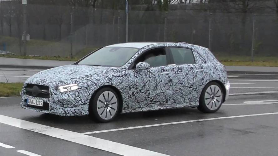Mercedes-AMG A35 Hot Hatch Possibly Spied On The Move