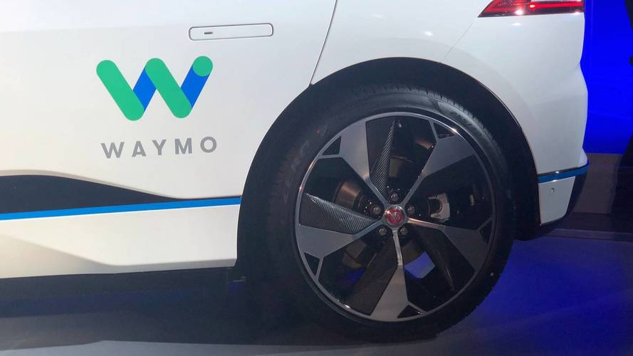 Waymo / Jaguar I-Pace autonome