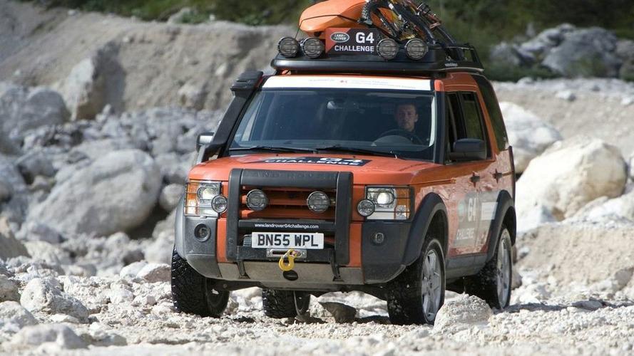 Land Rover G4 Challenge in Nevada