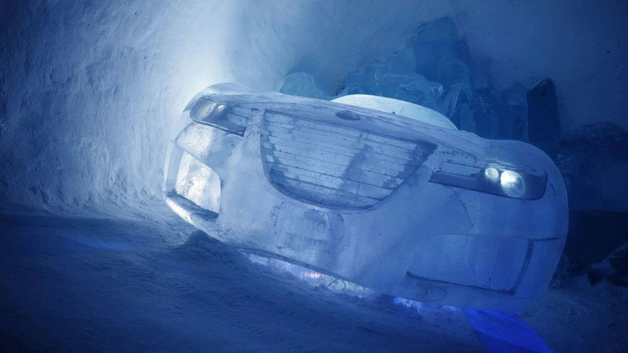 Saab Aero X Concept on Ice