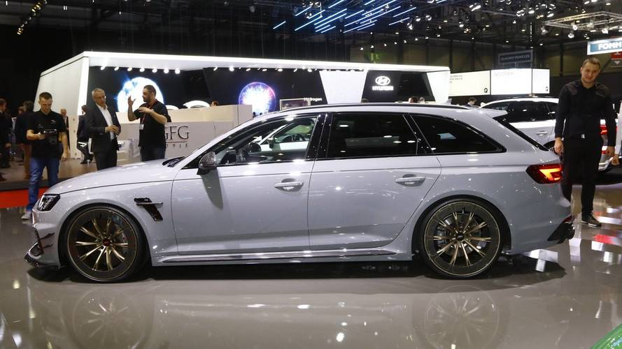 ABT RS4-R Live From Geneva Motor Show