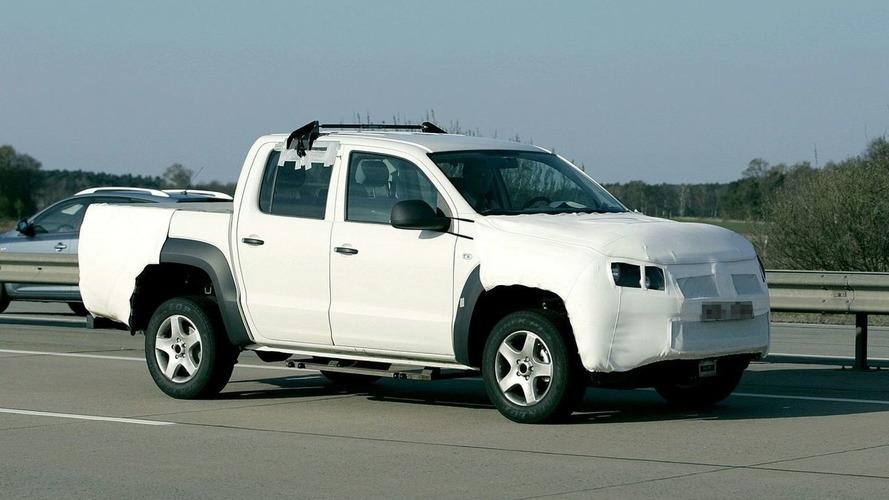 Volkswagen Robust Pickup Spy Video