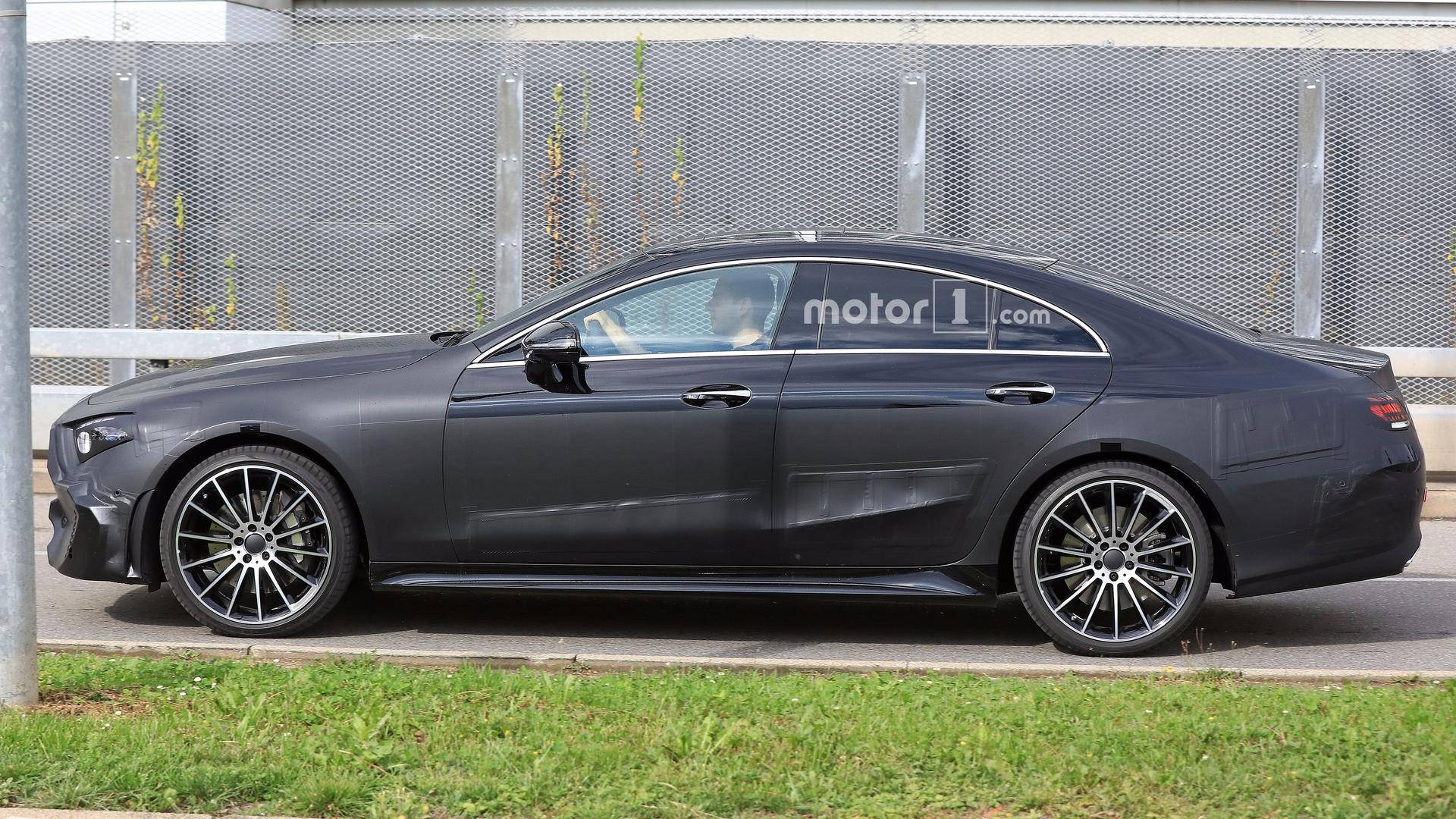 2018 - [Mercedes] CLS III  - Page 3 2018-mercedes-cls-spy-photo