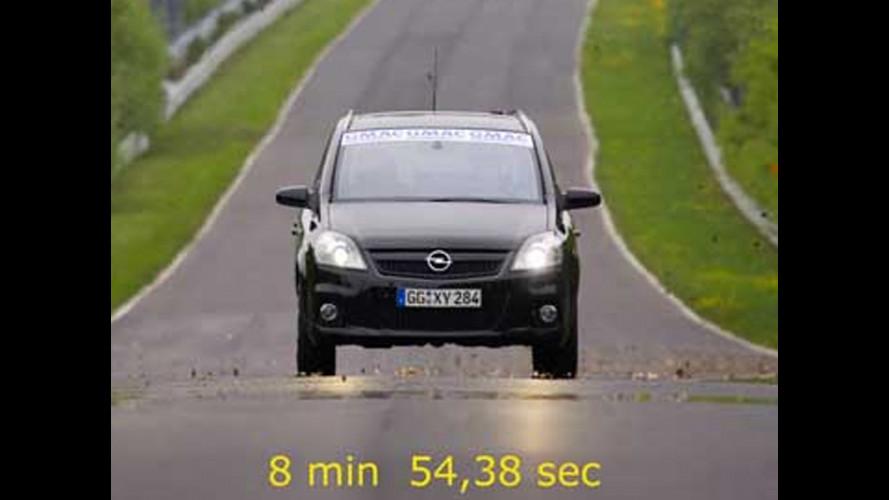Al Nürburgring è record per la Zafira OPC