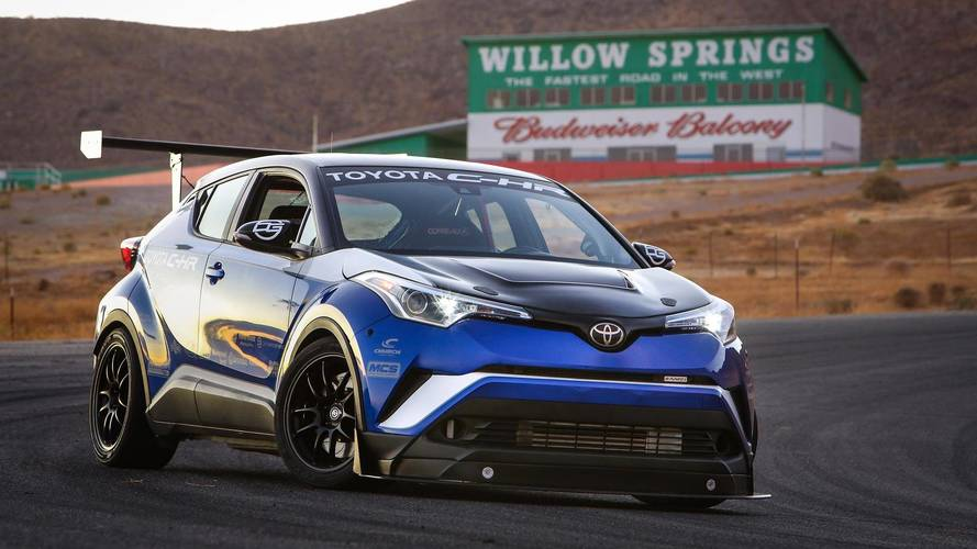 Toyota Confident 600-HP C-HR Would Set Nürburgring FWD Record