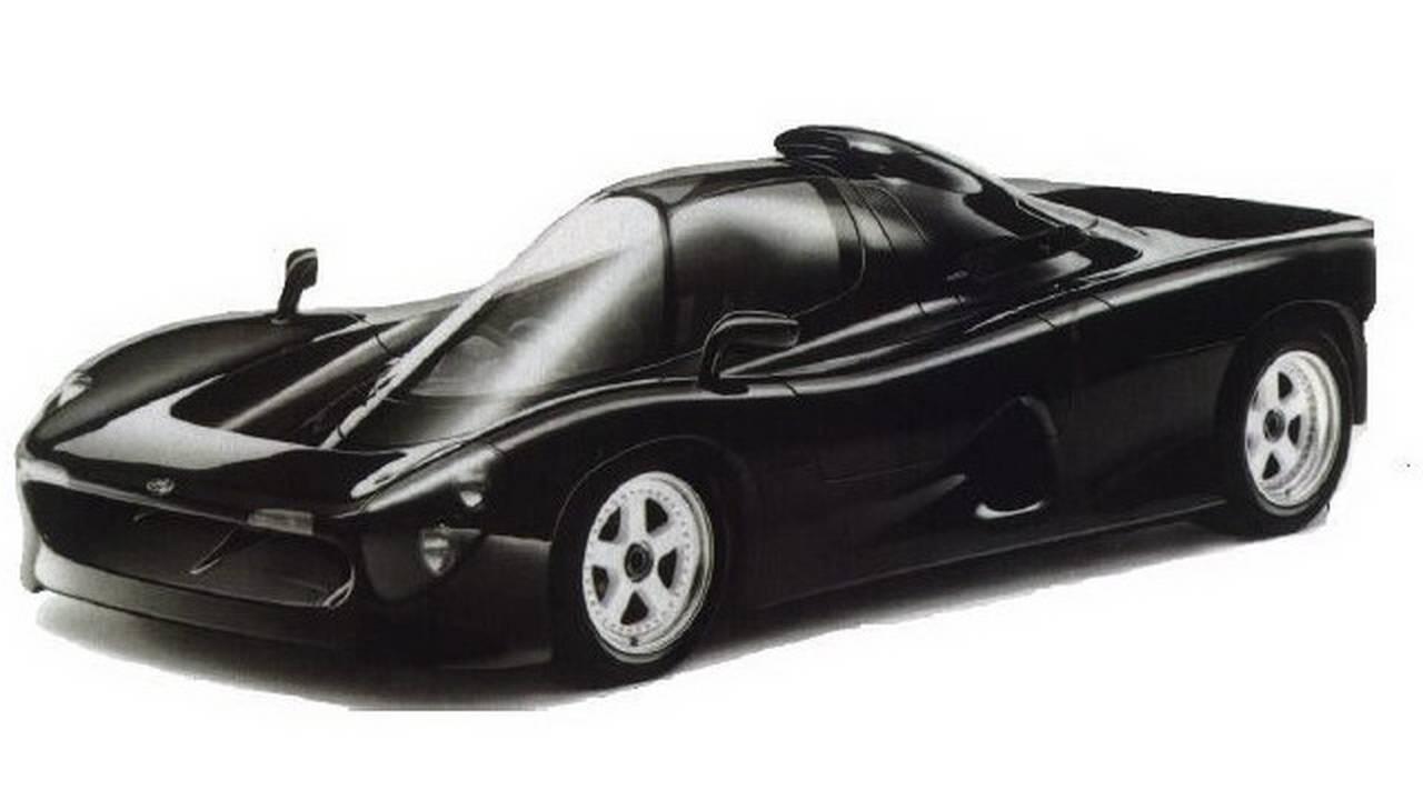 1992 Yamaha OX99-11 concept