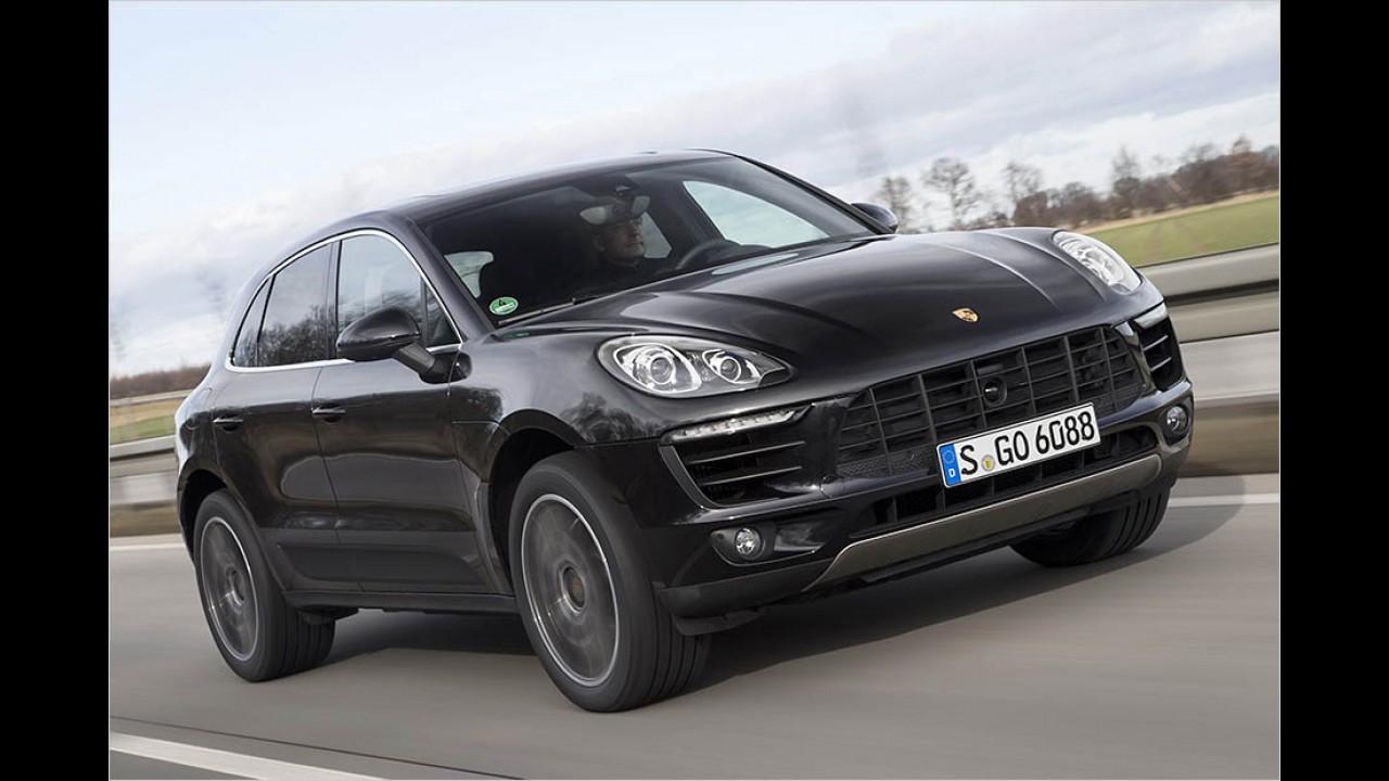 258 PS: Porsche Macan S Diesel