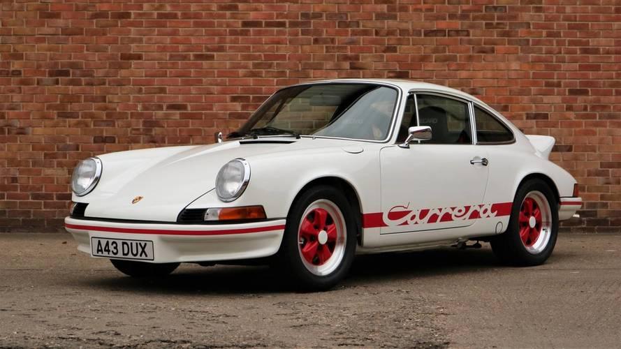 Enchères - Succès pour la Porsche Sale 2017