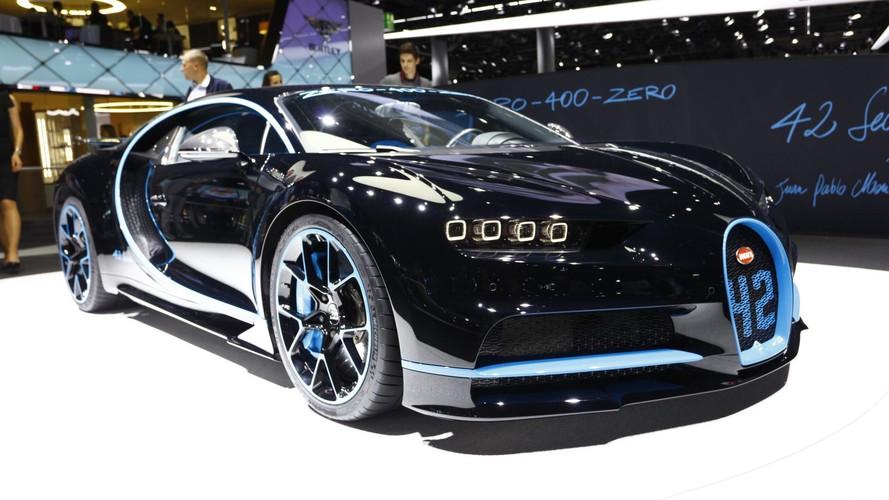 See The Bugatti Chiron Brag About Its 0-249-0 Record In Frankfurt
