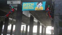 Greenpeace Volkswagen protest