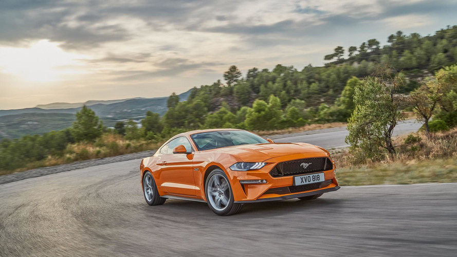 2018 Ford Mustang Arrives In Europe With 450 HP