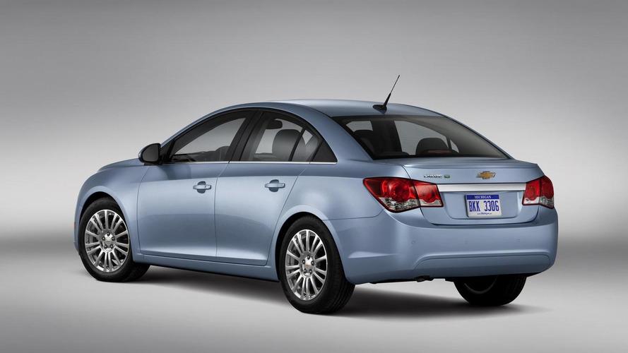 Chevrolet announces Cruze Eco specs